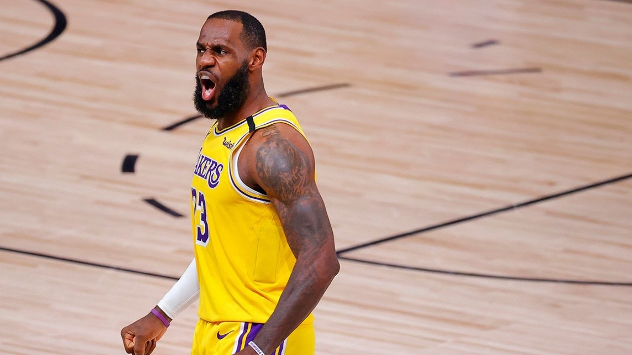 Don't get on the f***ing plane': LeBron James