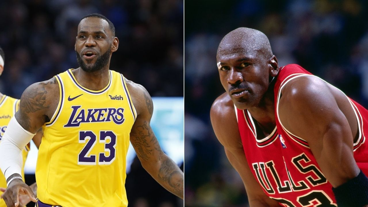 What media doesn't want you to know about Michael Jordan': Nick Wright on LeBron James being GOAT
