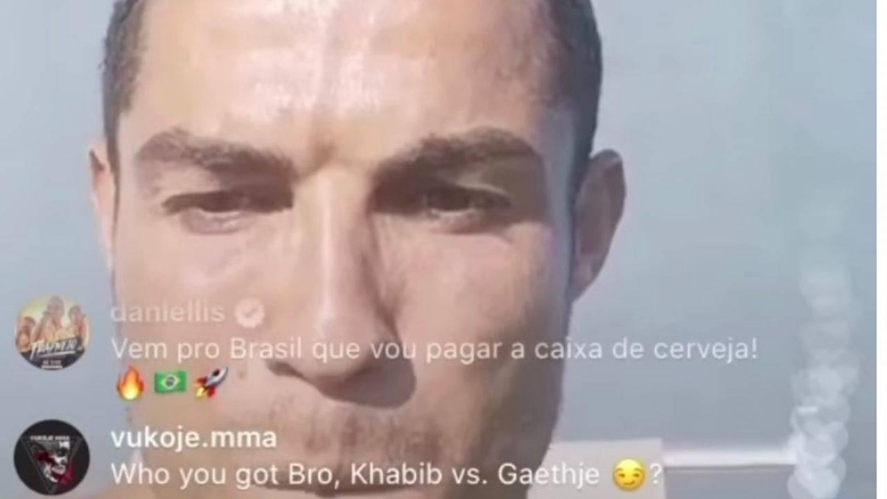 UFC 254: Cristiano Ronaldo Picks His Favorite Between Khabib Nurmagomedov and Justin Gaethje