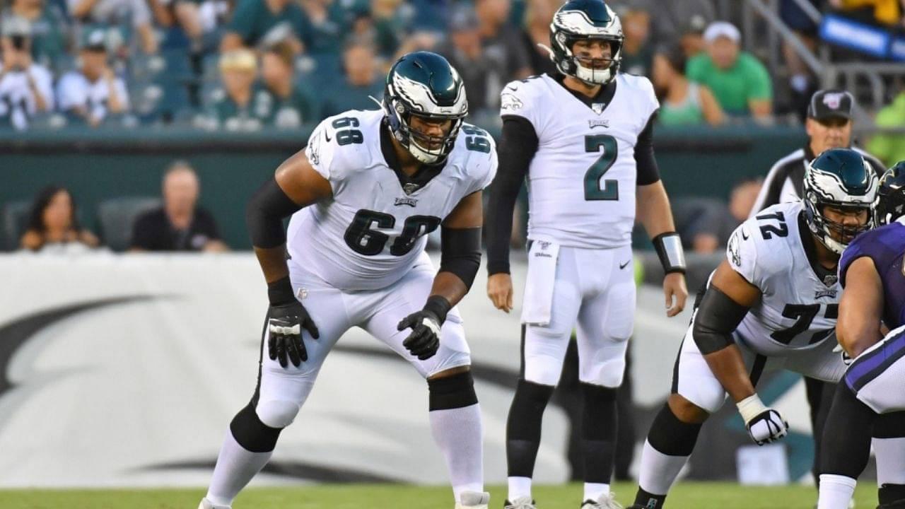 Jordan Mailata NFL : Australian American Left Tackle Called Out For Poor Play In NFL Week 7 Giants vs. Eagles Game