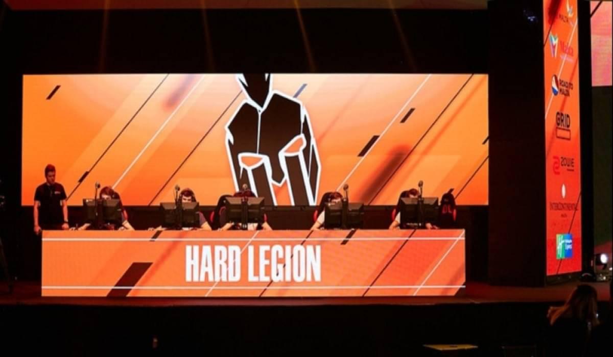 Hard Legion add DrobnY on a 2 month trial