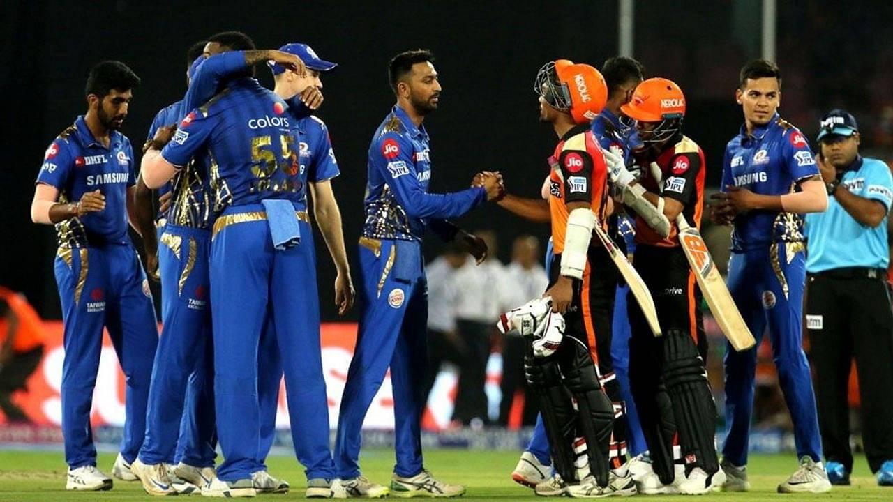 MI vs SRH Head to Head Records   Mumbai Indians vs Sunrisers Hyderabad H2H Stats   IPL 2020 Match 17