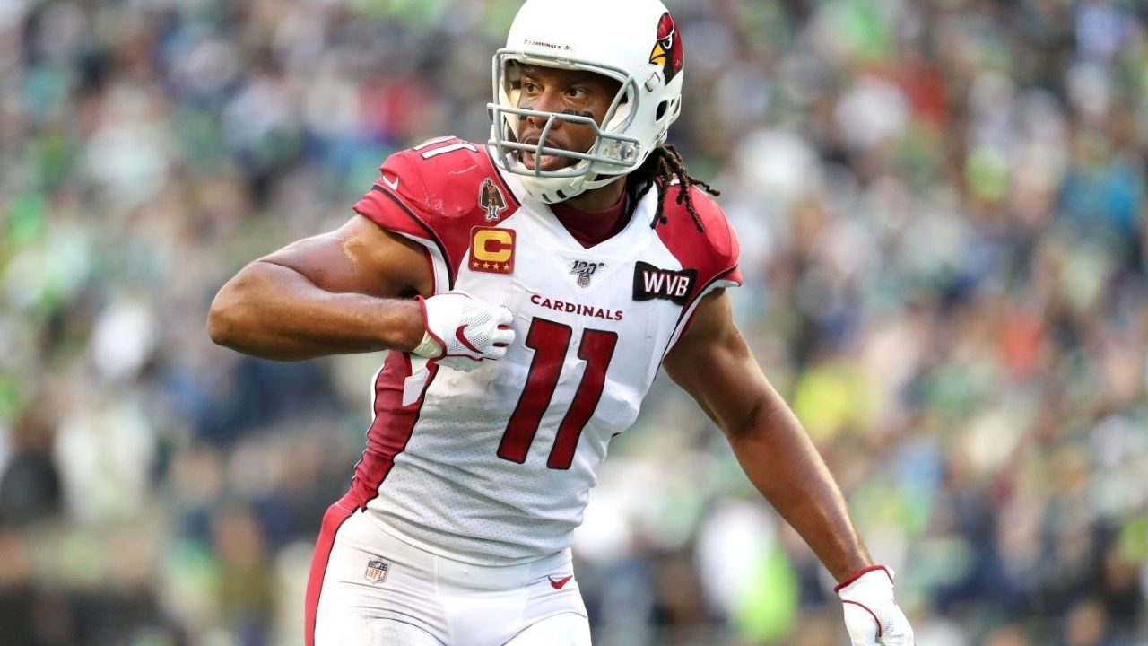 Larry Fitzgerald Record: Arizona Cardinals Wide Receiver Set to Join Jerry Rice as Only Players with 1,400 Catches
