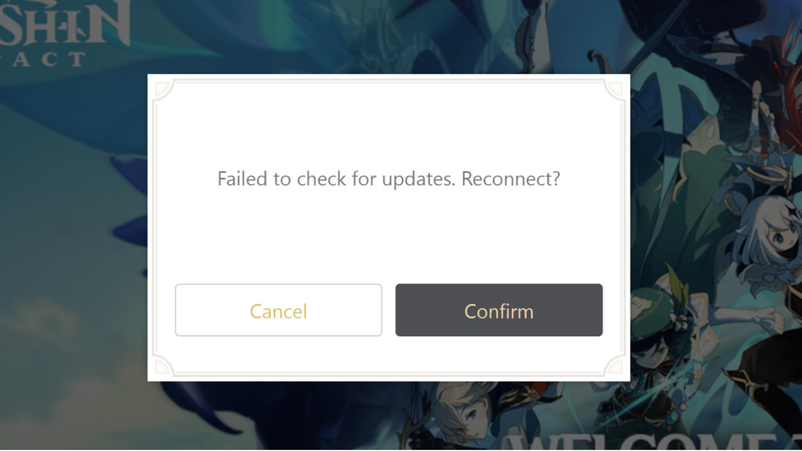 Genshin Impact Failed To Check For Updates Fix How To Fix It The Sportsrush