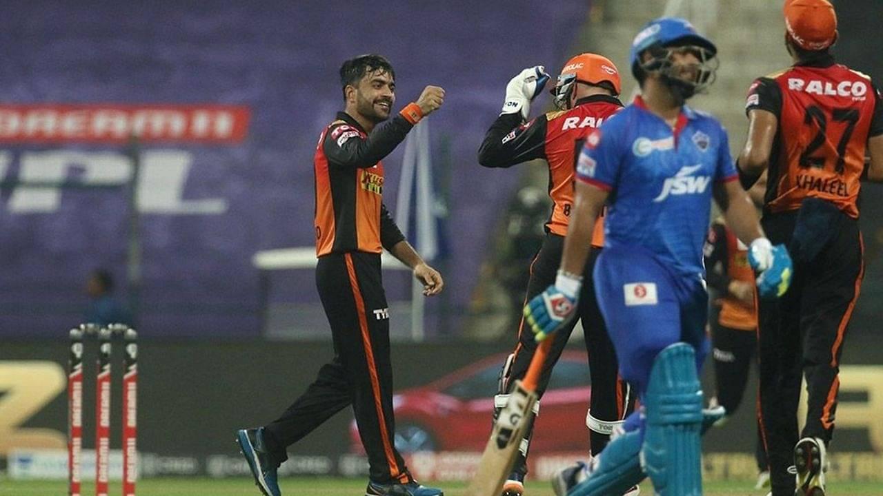 SRH vs DC Head to Head Records | Sunrisers Hyderabad vs Delhi Capitals H2H Stats | IPL 2020 Match 47