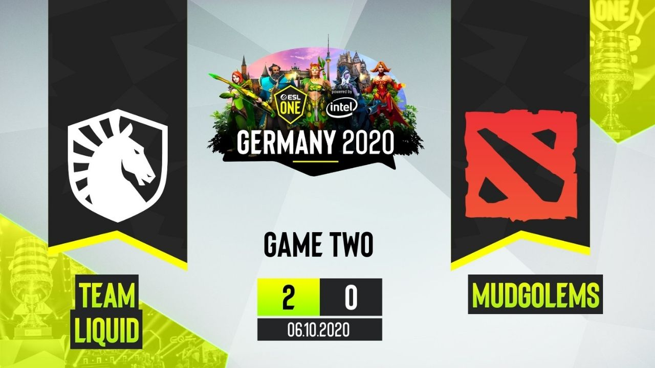 Team Liquid beat Mudgolems 2-0 in R1 of ESL One Germany Group Stage