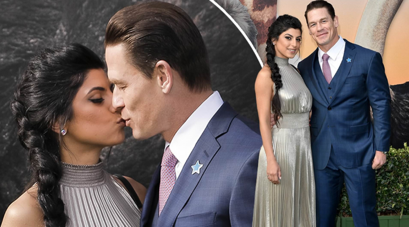 John Cena marries girlfriend Shay Shariatzadeh in a private wedding