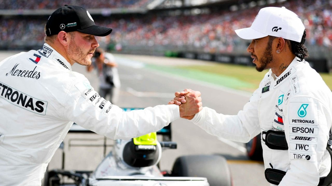 """""""I don't think there are many people that can do what he's doing""""- Lewis Hamilton praises Valtteri Bottas after qualifying in Imola"""