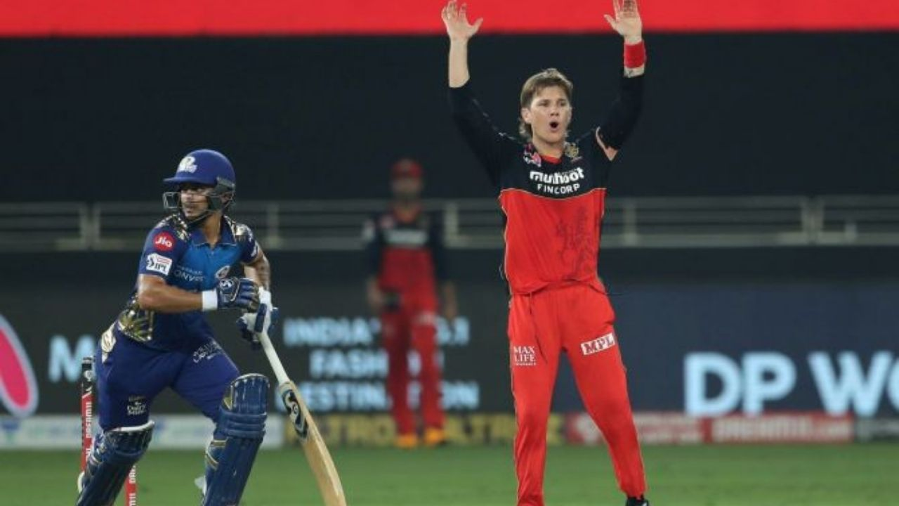 Why is Adam Zampa not playing today's IPL 2020 match vs Delhi Capitals?
