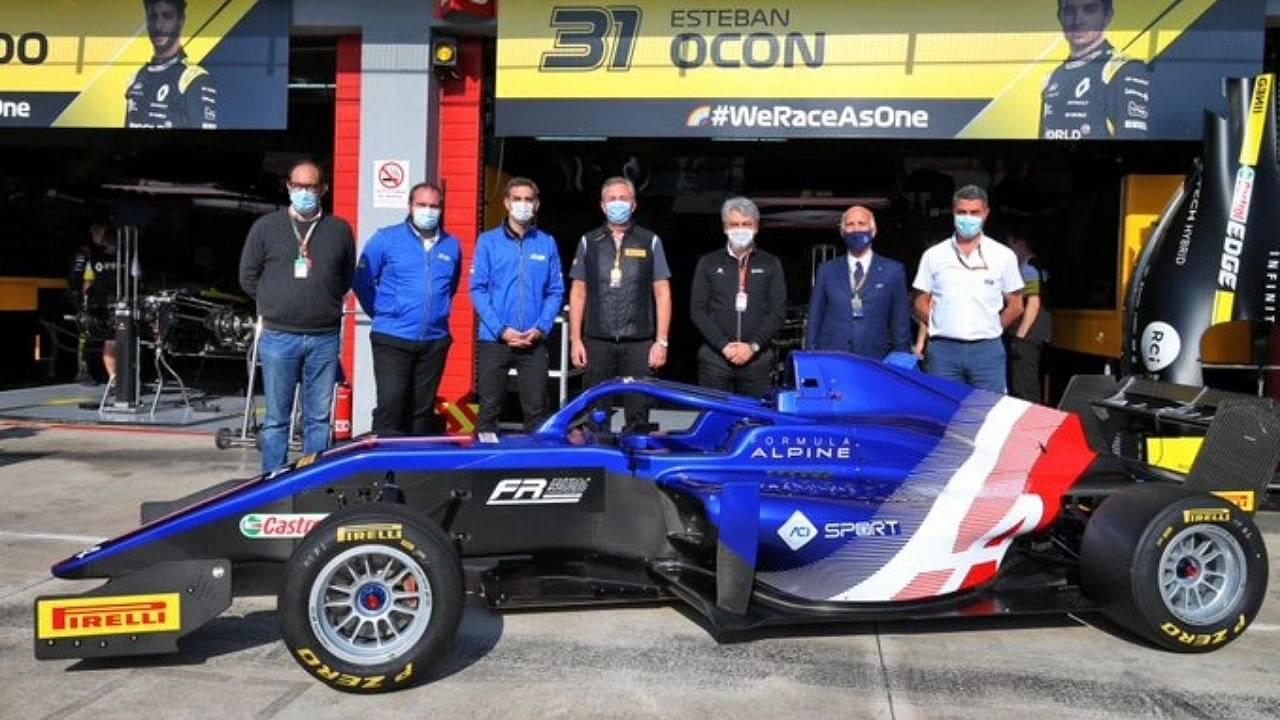 Alpine reveals 2021 livery ahead of Emilia Romagna Grand Prix qualifying