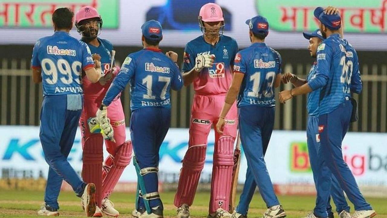 DC vs RR Head to Head Records | Delhi Capitals vs Rajasthan Royals H2H Stats | IPL 2020 Match 30