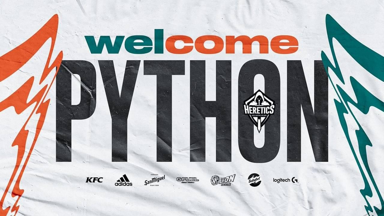 Heretics sign Python