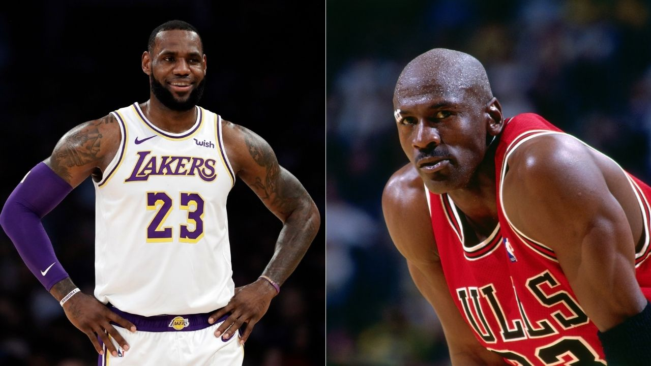 Lakers' LeBron James watches Michael Jordan's 'Last Dance