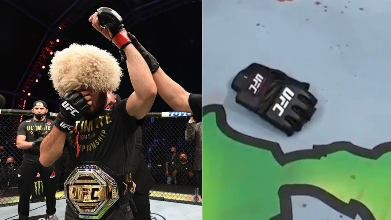 UFC 254: An Emotional Khabib Nurmagomedov Hangs Up His Gloves After Securing Victory Over Justin Gaethje; Retires With An Undisputed 29-0 Record