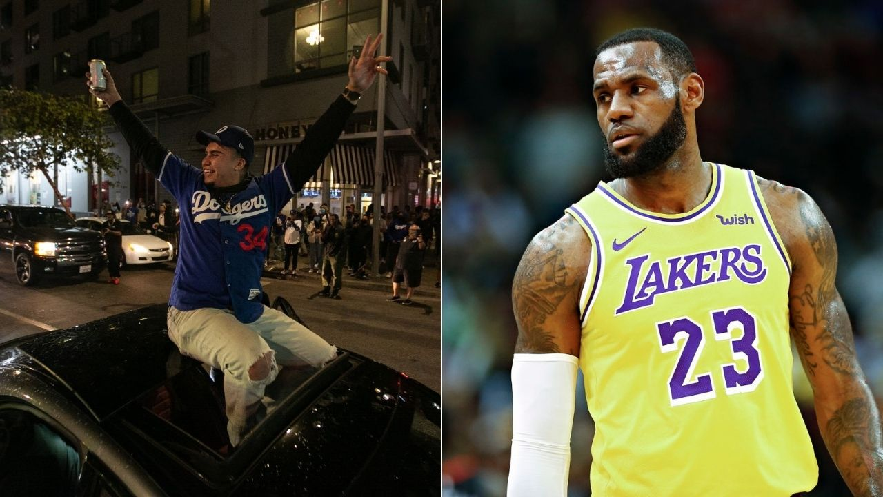 Lakers' LeBron James slammed for Dodgers' World Series win parade call amidst COVID-19 spike