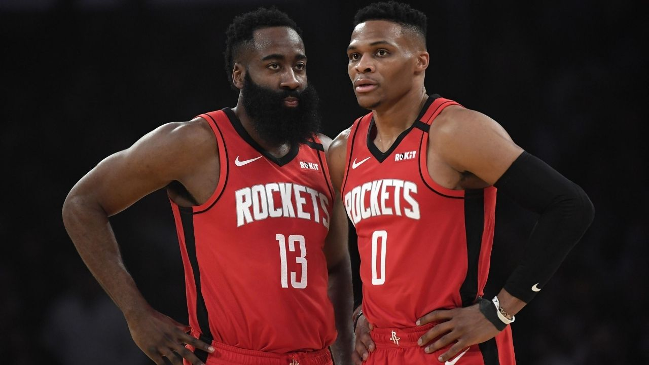 James Harden & Russell Westbrook are in their 30s