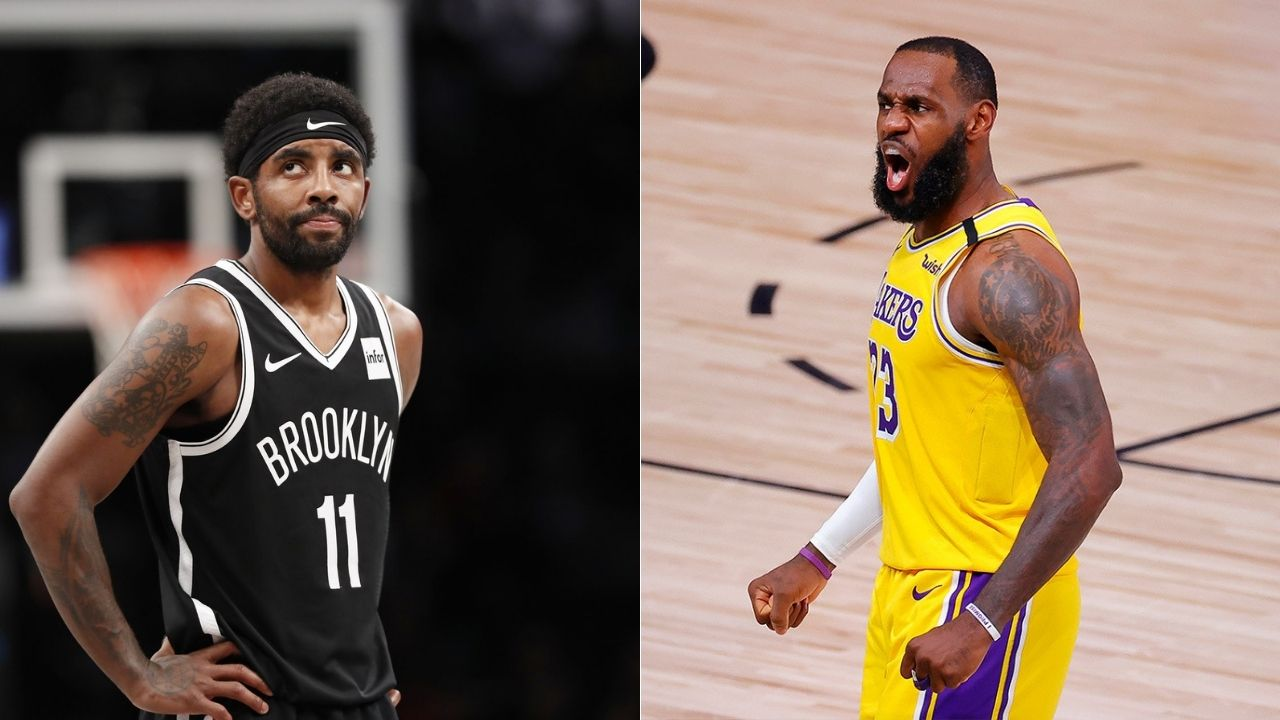 LeBron James slams Kyrie Irving for head coach statement
