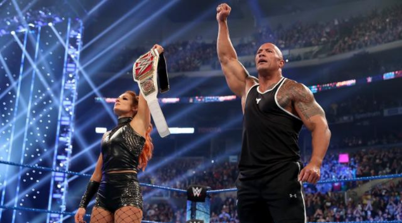 Eric Bischoff reveals what worried the WWE about The Rock's return to SmackDown
