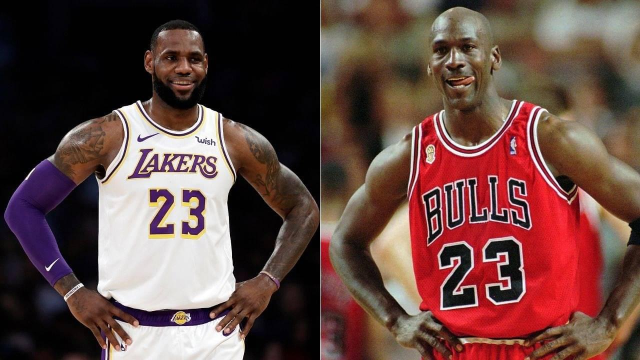 Michael Jordan is still the GOAT, not LeBron James': Skip Bayless