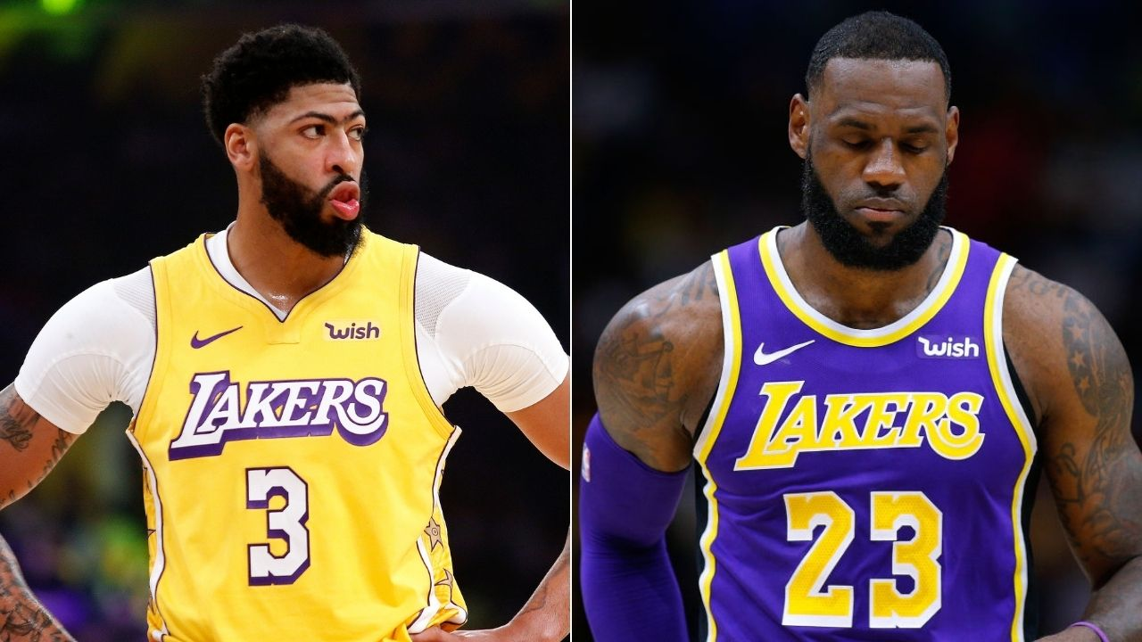 Lakers are your team AD': LeBron James