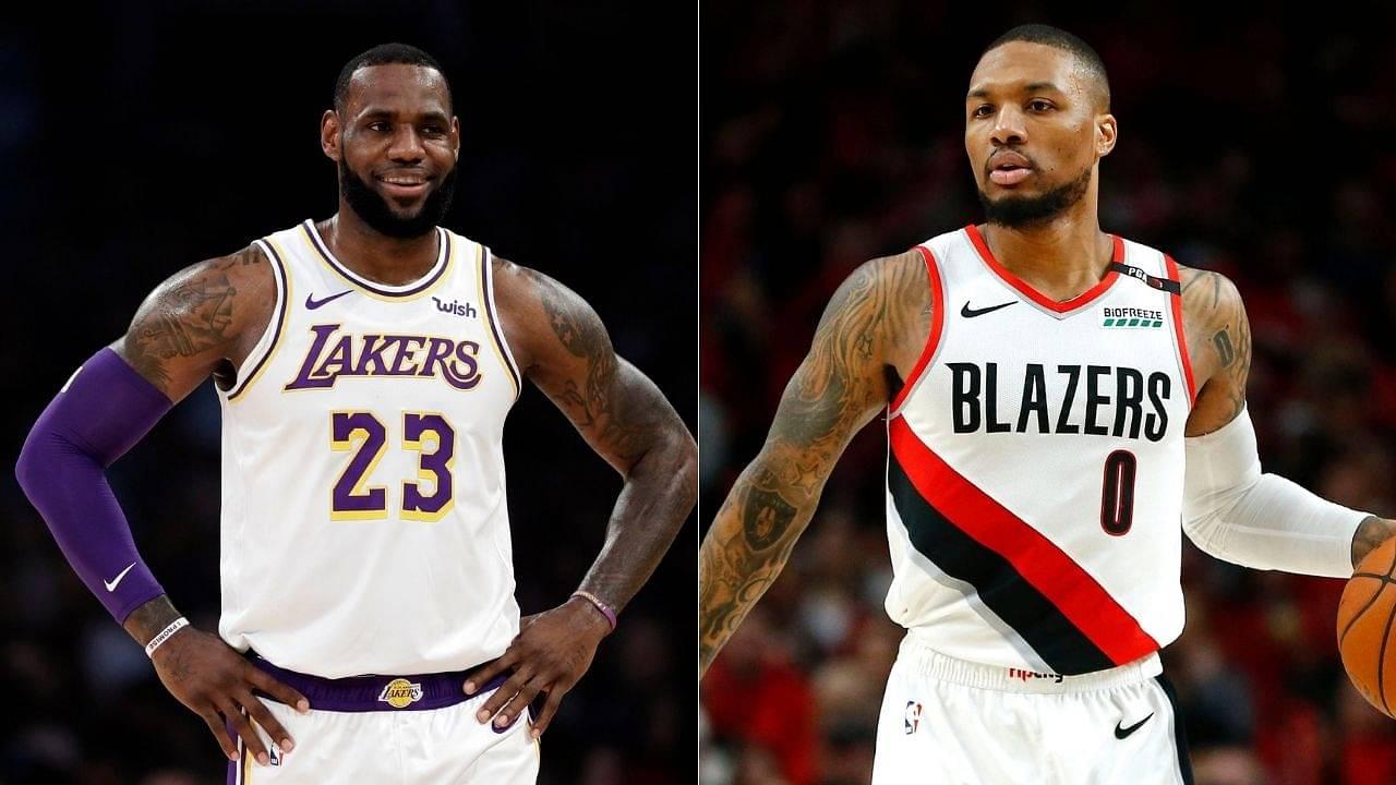 """'Want LeBron James, Michael Jordan & Kevin Durant's skills"""": Damian Lillard"""