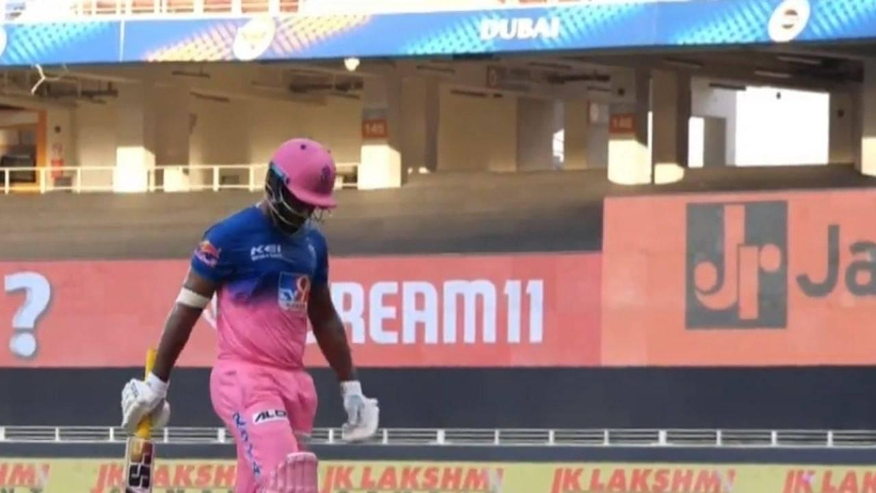 Sanju Samson dismissal vs SRH: Twitter reactions on Rajasthan Royals batsman's dismissal off Rashid Khan