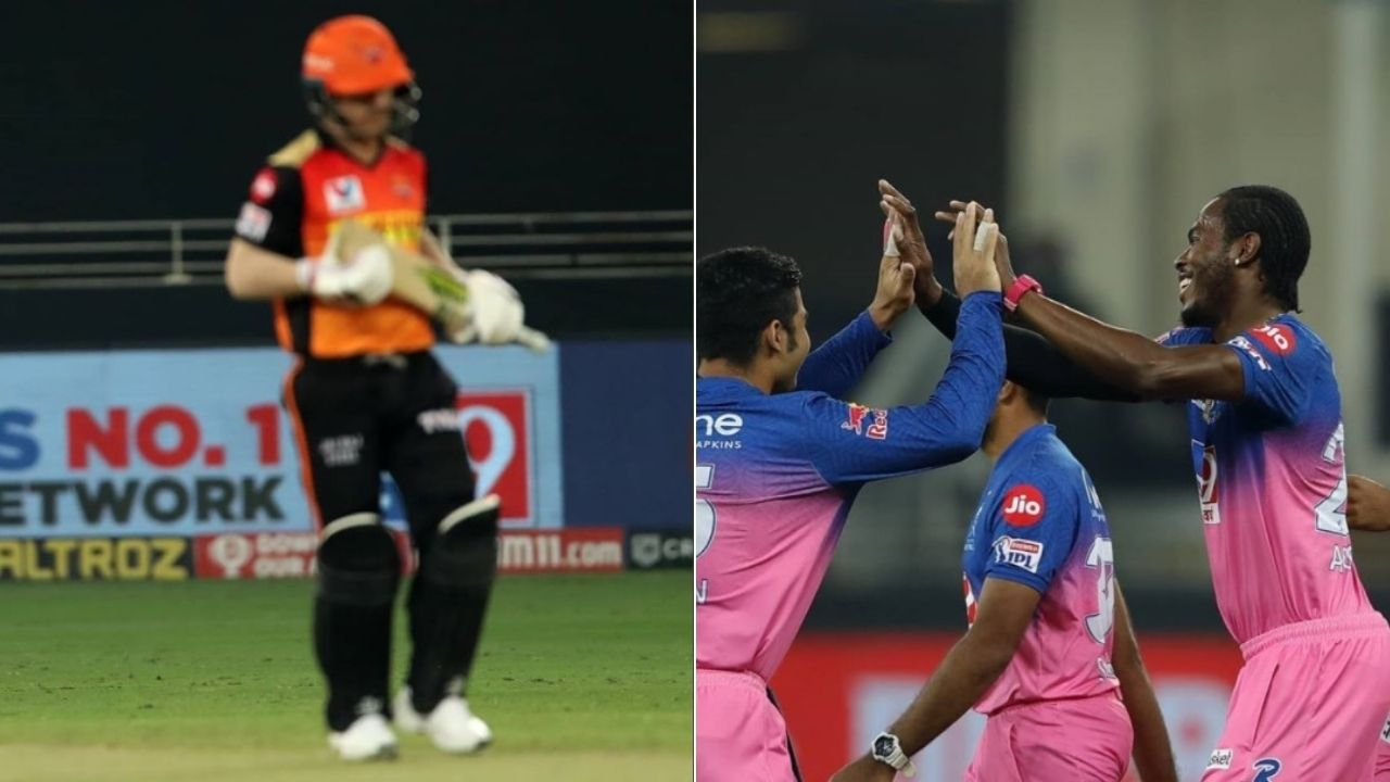 David Warner vs Jofra Archer record: Rajasthan Royals pacer dismisses SRH captain yet again in IPL 2020