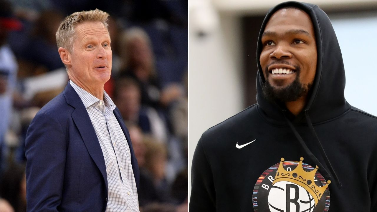 Steve Kerr explains reaction on Kevin Durant making decision to leave Warriors for Nets