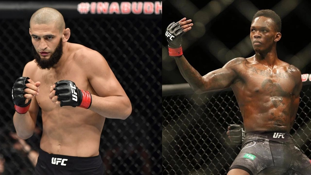 'You want to fly?'- Khamzat Chimaev Teases Israel Adesanya By Flaunting Grappling and Takedown Maneuvers