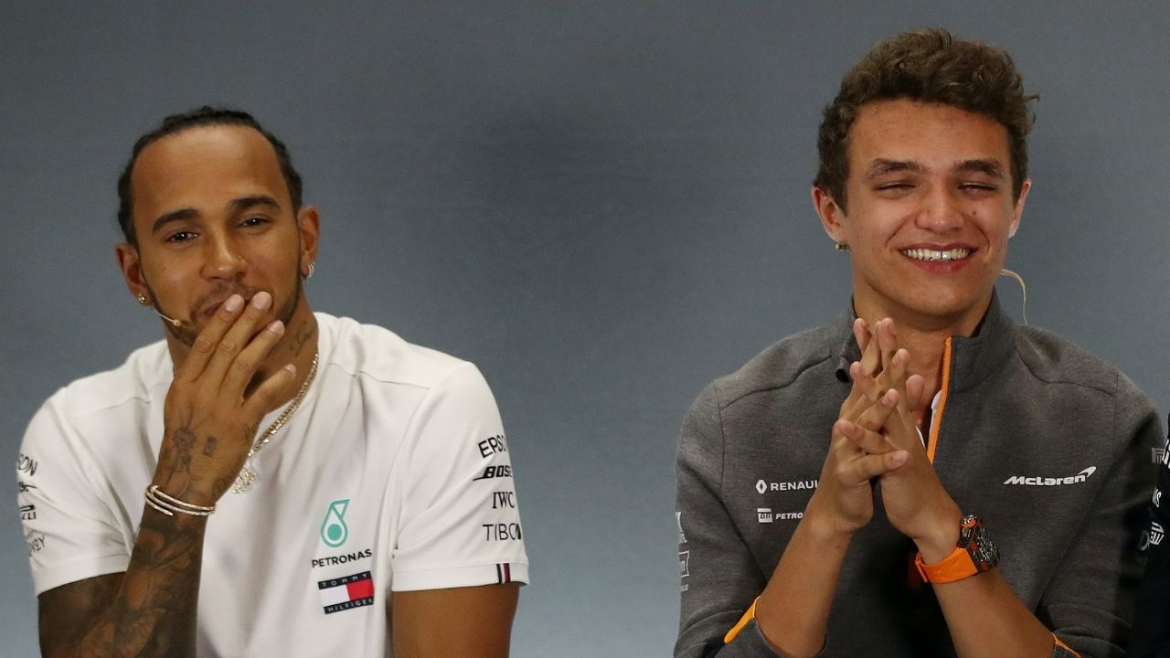 """I see no reason why he shouldn't""- Lando Norris backs knighthood for Lewis Hamilton"