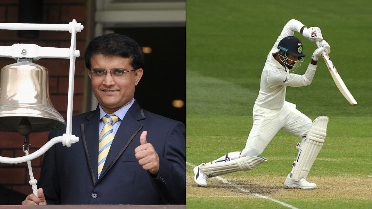 """He will contribute in all forms of the game"": Sourav Ganguly confident about KL Rahul doing well in Test cricket"