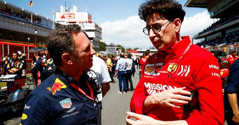 Ferrari F1: Mattia Binotto supports Red Bull's Honda power unit freeze, but with a caveat