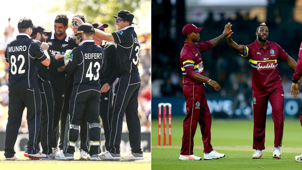 New Zealand vs West Indies 1st T20I Live Telecast Channel in India and New Zealand: When and where to watch NZ vs WI Auckland T20I?