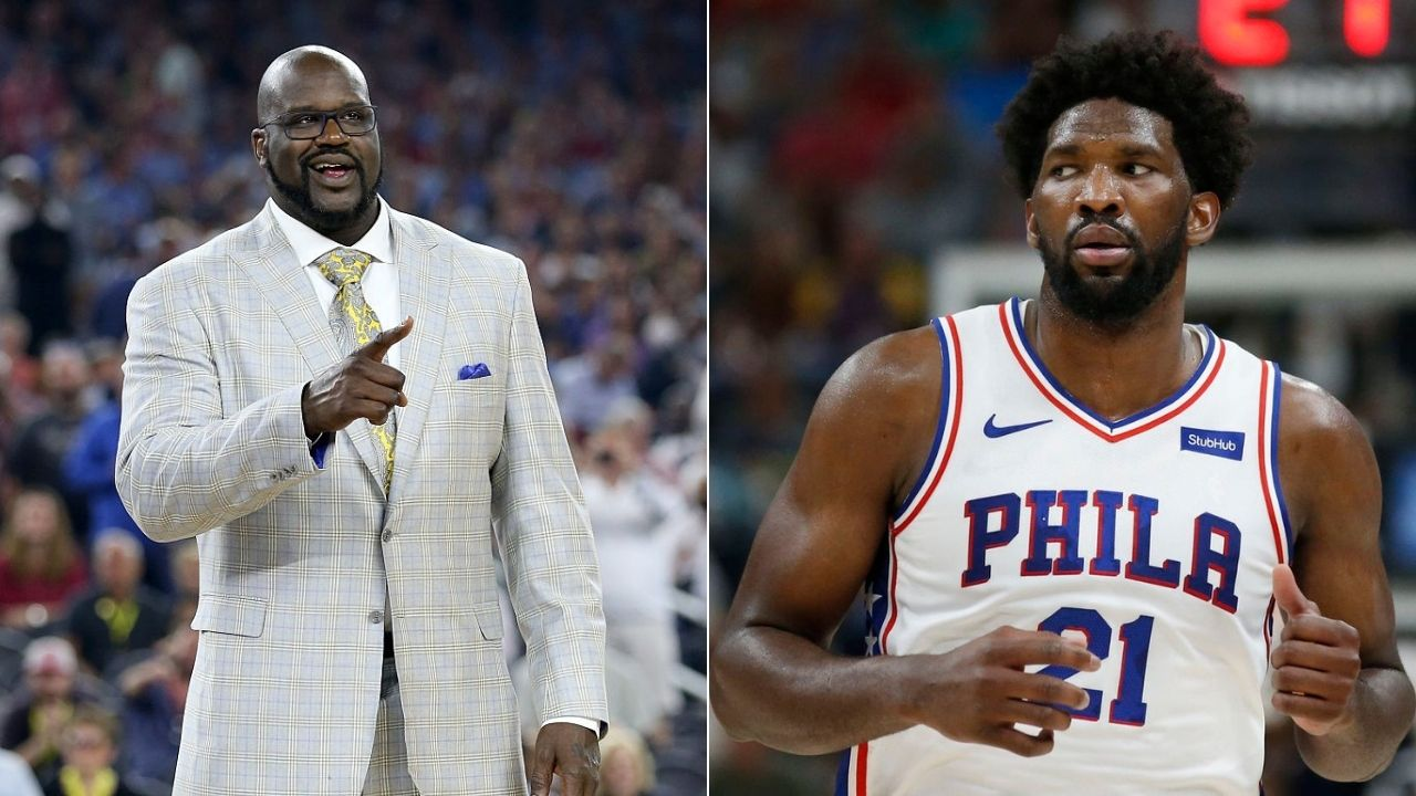 Daryl Morey compares Joel Embiid to Lakers' Shaquille O'Neal