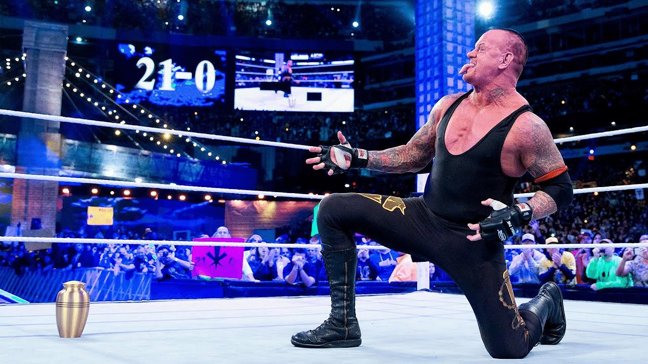 WWE's original plans for The Undertaker's Wrestlemania streak revealed