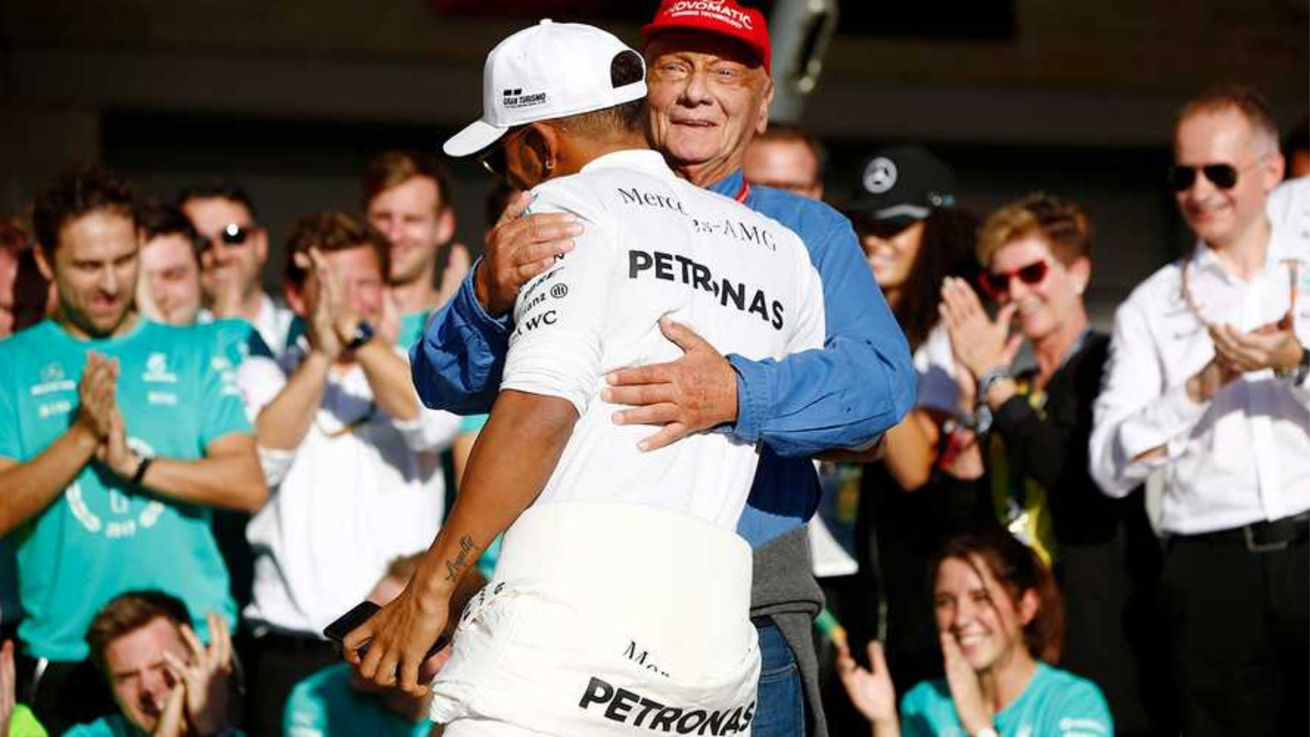 Lewis Hamilton sheds light on the role Ross Brawn and Niki Lauda played in convincing him to join Mercedes