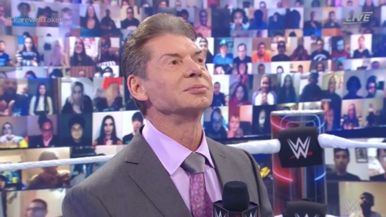 WWE Chairman Vince McMahon Says WWF While Giving a Tribute To The Undertaker