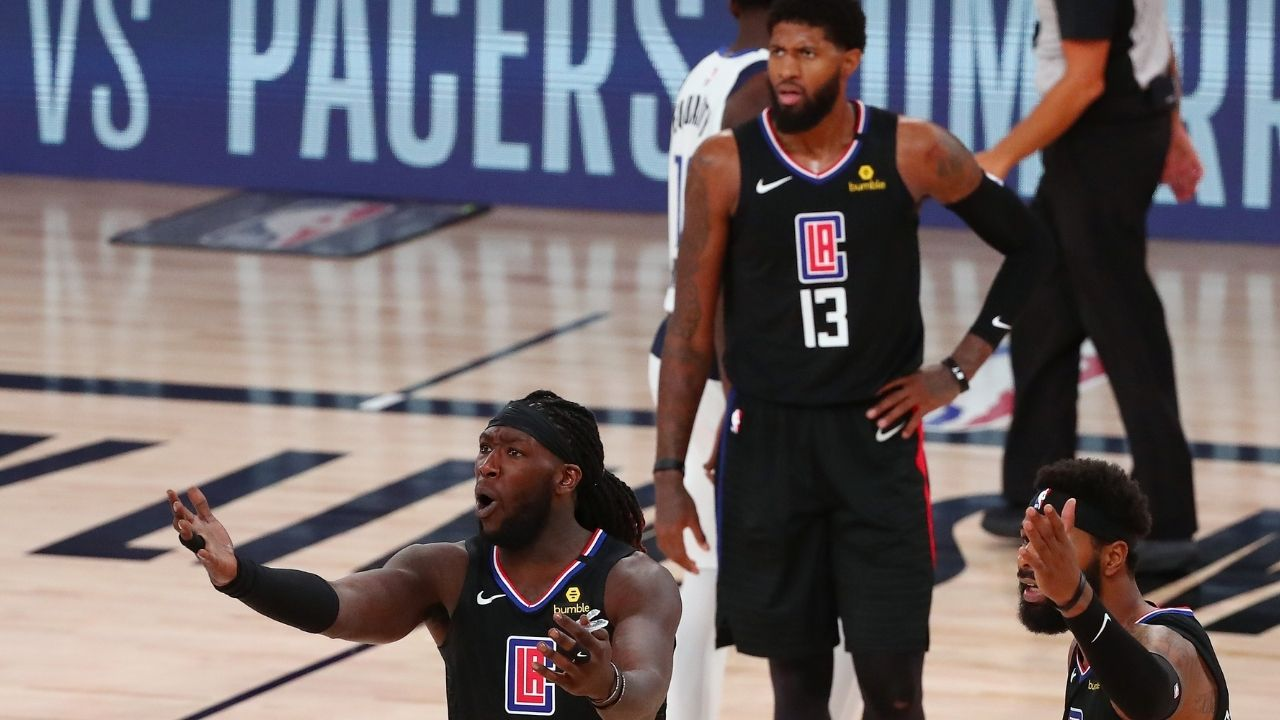 'Clippers did not want me back': Montrezl Harrell explains why he chose to join rivals LeBron James and the Lakers