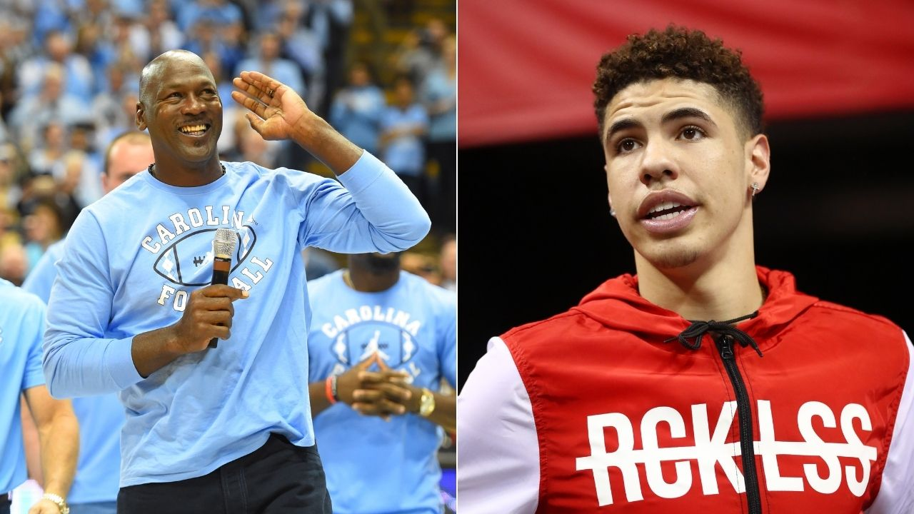 """""""2 ounces of Michael Jordan into LaMelo Ball, and he would be an MVP""""- Skip Bayless comments on no. 3 pick's attitude"""