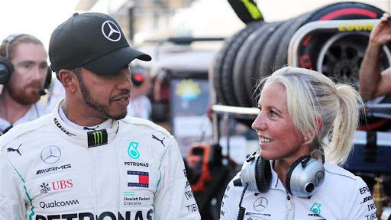 """""""She has been one of the greatest things that's happened to me in my life""""- Lewis Hamilton praises his physio"""