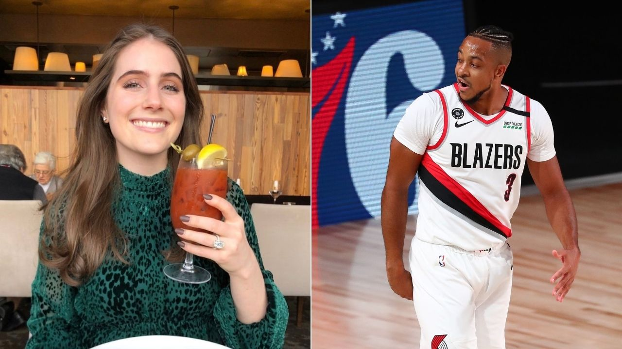 Is that CJ McCollum with another woman?': Blazers star responds to racy image with woman who isn't his wife