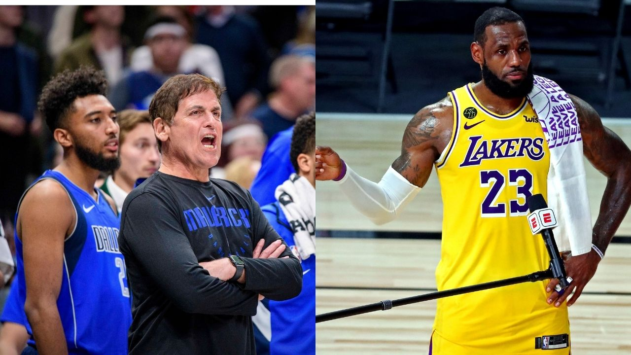 'LeBron James' speech revived Bubble playoffs': Mark Cuban explains how Lakers star saved the NBA season