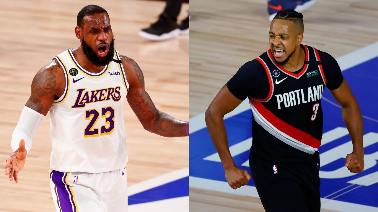 'Just 70 days for Lakers' LeBron James and Heat': CJ McCollum blasts NBA