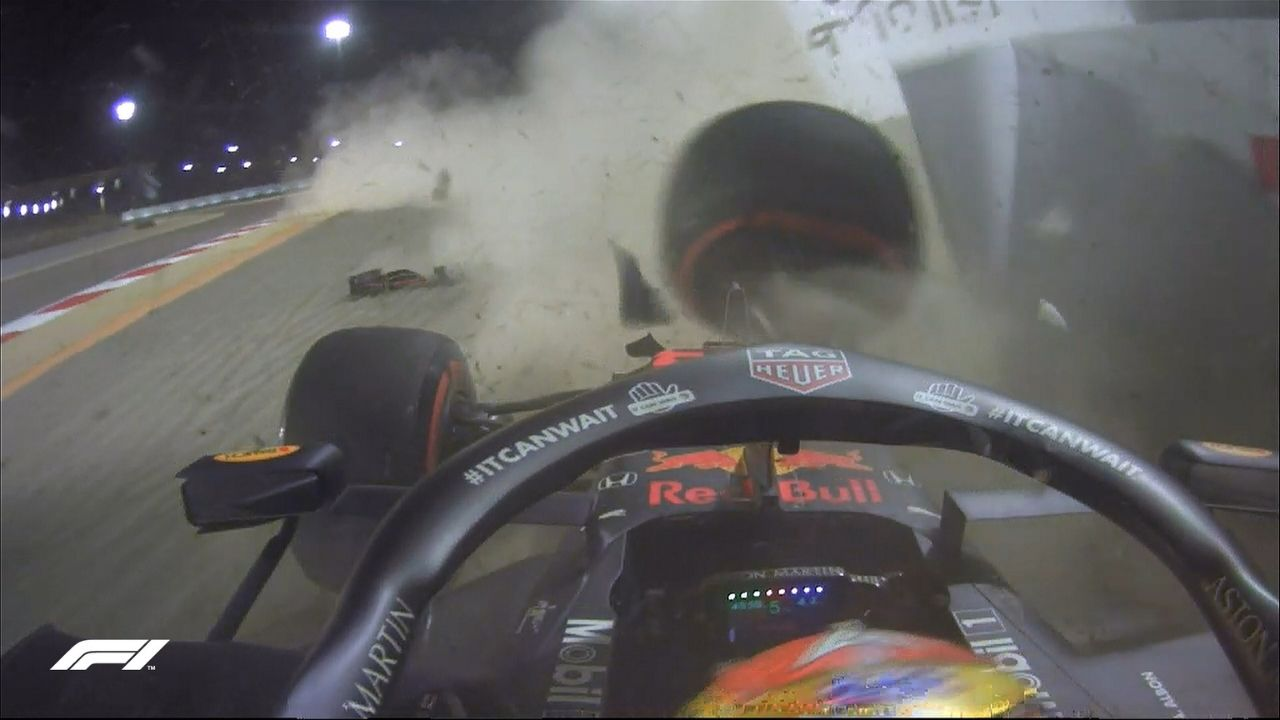 """""""I was a bit surprised by the lack of grip""""- Alex Albon reviews his crash in FP2"""