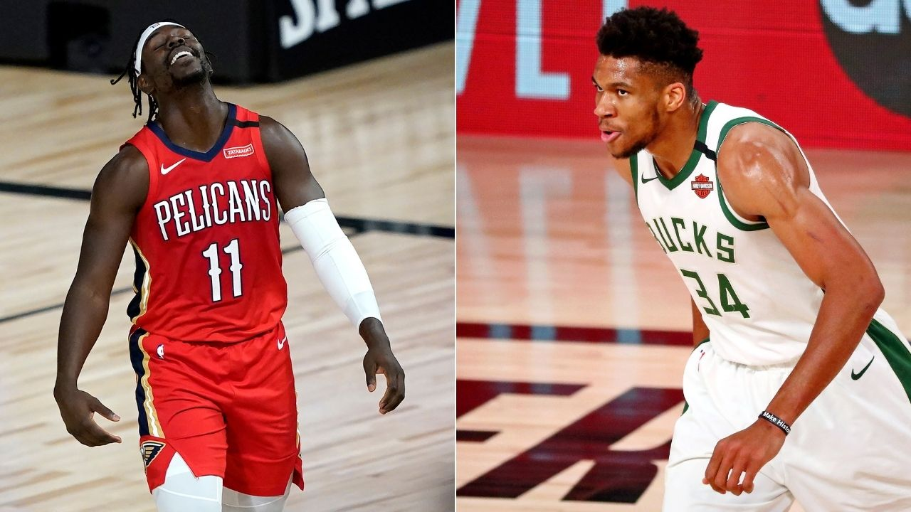 How will Giannis Antetokounmpo's Bucks line up after trading for Jrue Holiday