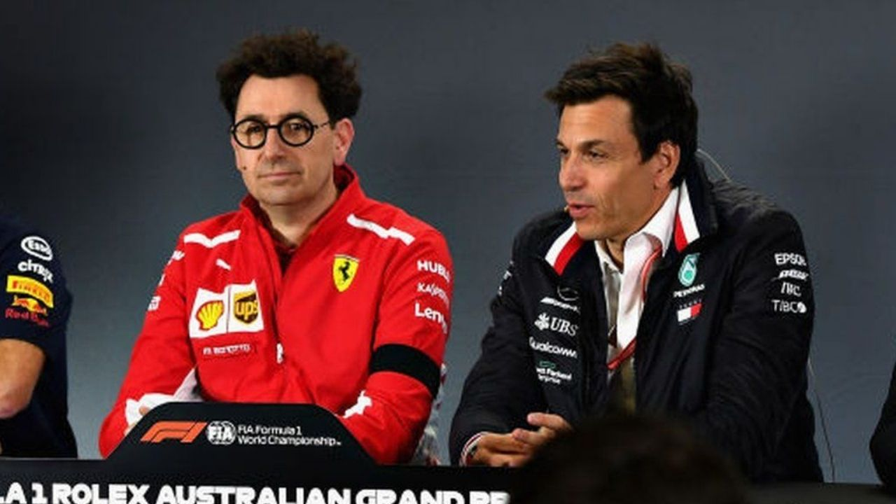 """""""It is not hate""""- Mattia Binotto on his relationship with Toto Wolff"""