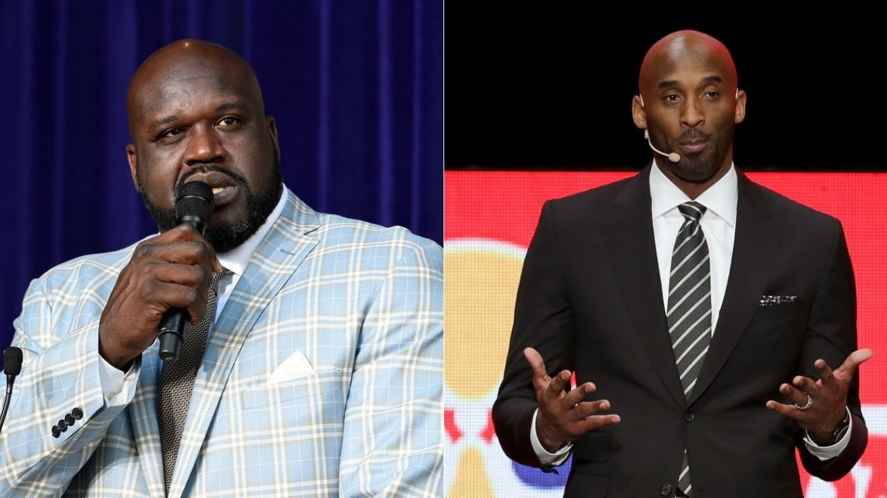 """Which Kobe Bryant signature move should be on his statue?"""": Shaquille O'Neal"""