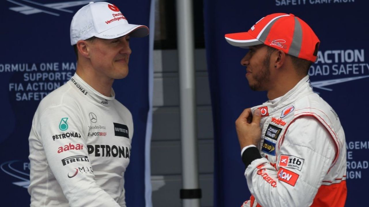 """""""He would be staring in the eyes of his equal [Hamilton]""""- Former rival of Michael Schumacher backs Lewis Hamilton comparisons"""