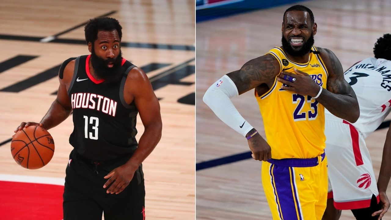 See y'all in 2022 if James Harden joins Nets': Former Lakers star predicts LeBron James and co. will concede NBA Title
