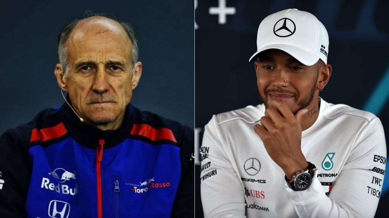 """""""Who's that?""""- Lewis Hamilton when asked about Franz Tost's proposal of $10 million salary cap"""